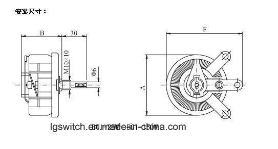 Rt Series 12.5W to 300W Wirewound Rheostat