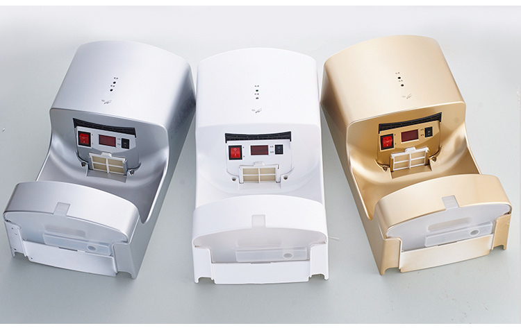 High Quality Automatic Fast Efficient Hot Air Hand Dryers for Hotel
