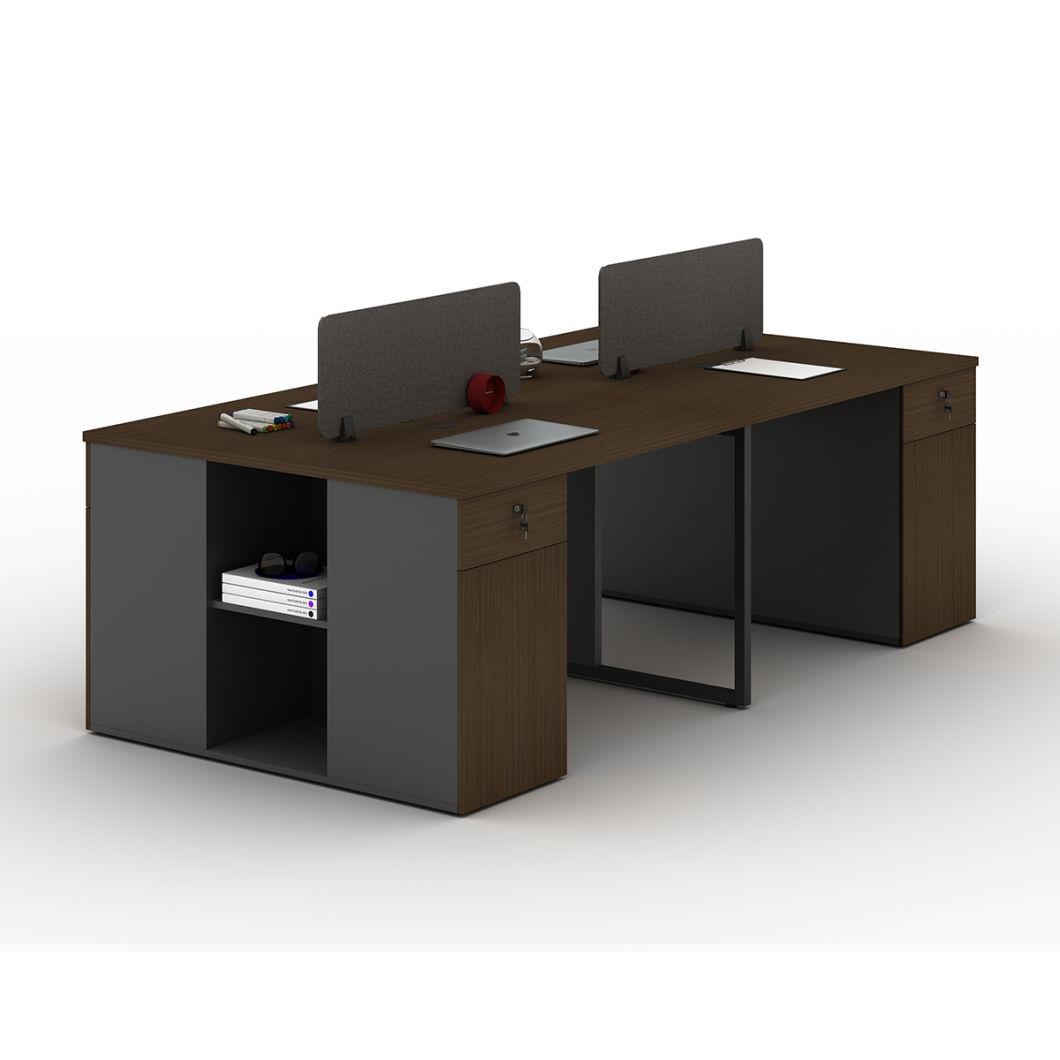 - China 4 Person Seat Office Furniture Modern Computer Desk Modern
