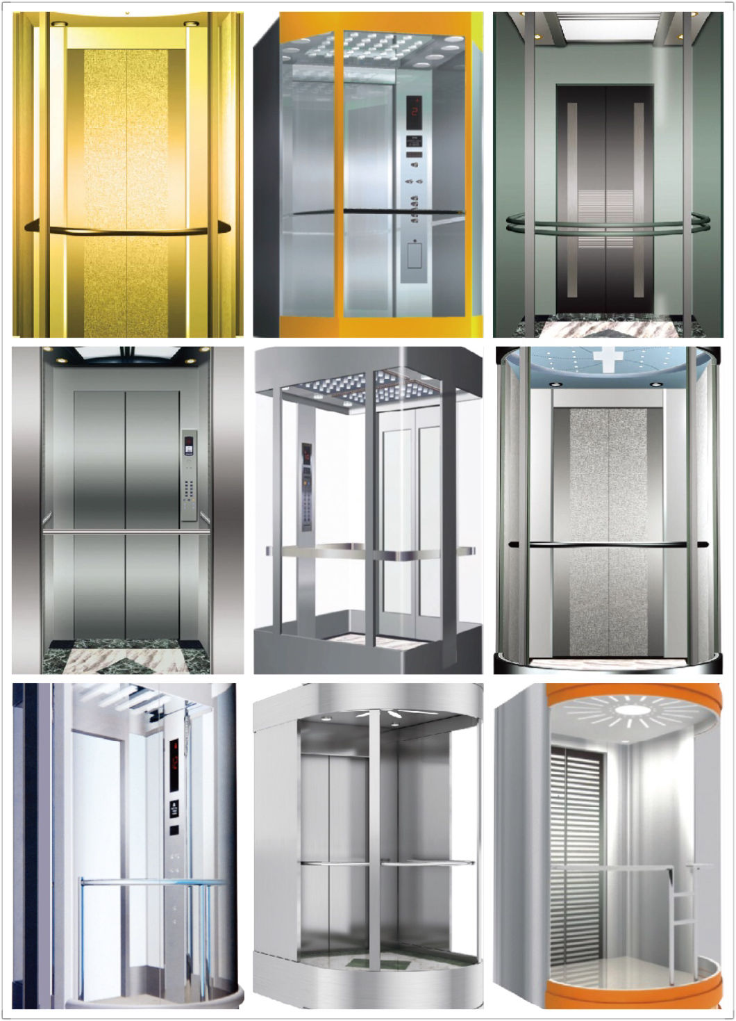 مصعد رفع الركاب المنزلي مصعد لمشاهدة معالم المدينة من الصين على Topchinasupplier Com