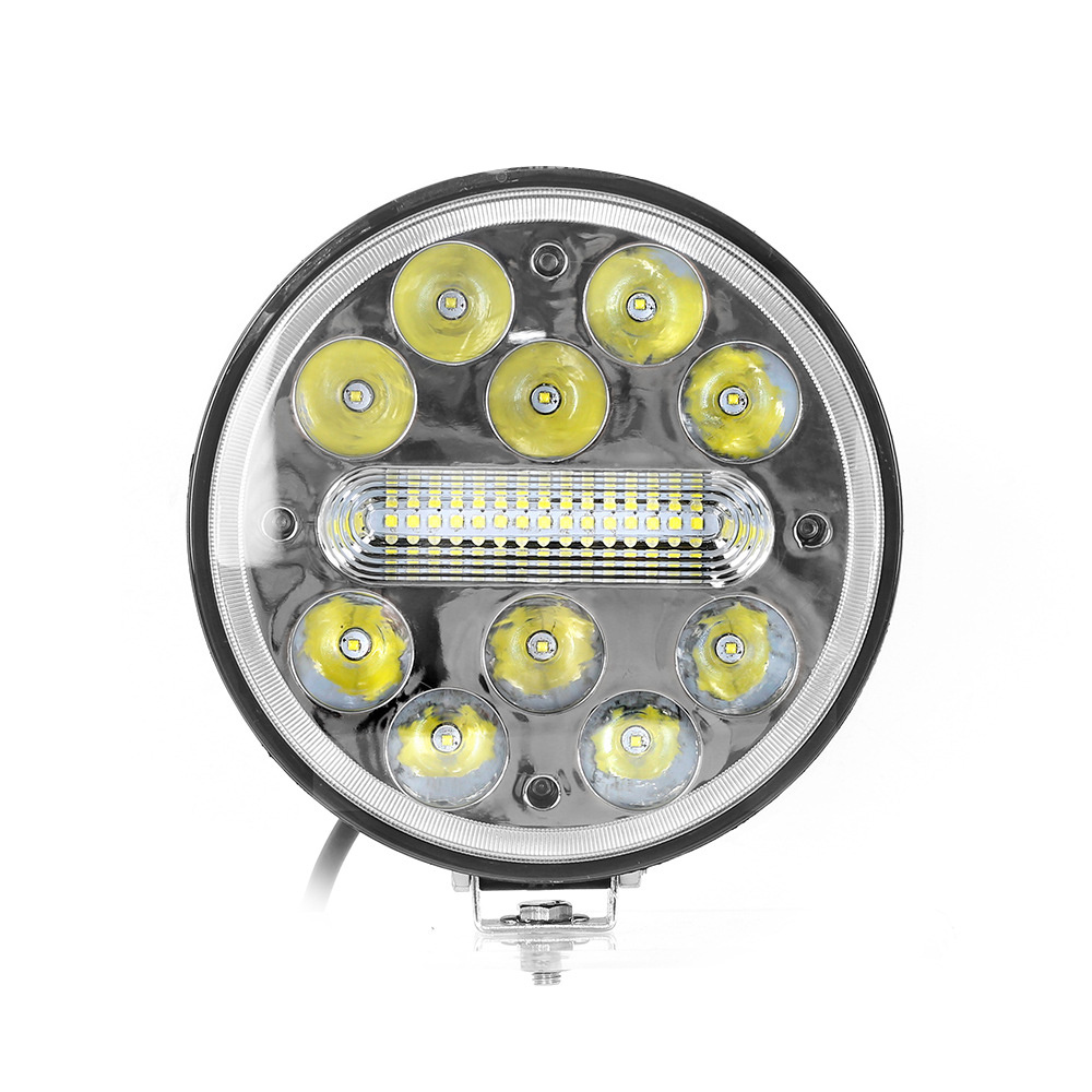 7'' Spot Beam Round LED Driving Light with IP69K Waterproof Ce Certification for ATV Truck
