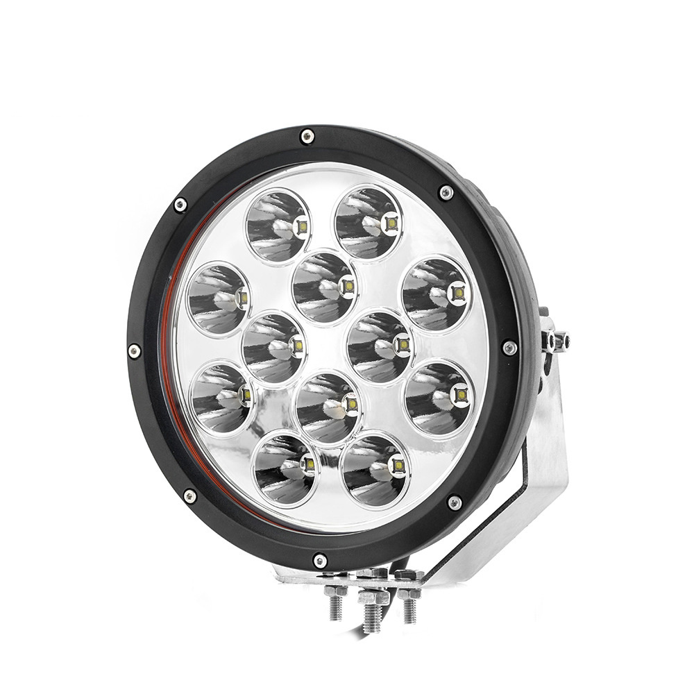 Factory 9 Inches 120W Combo Beam Round LED Work Dring Light for Jeep Offroad