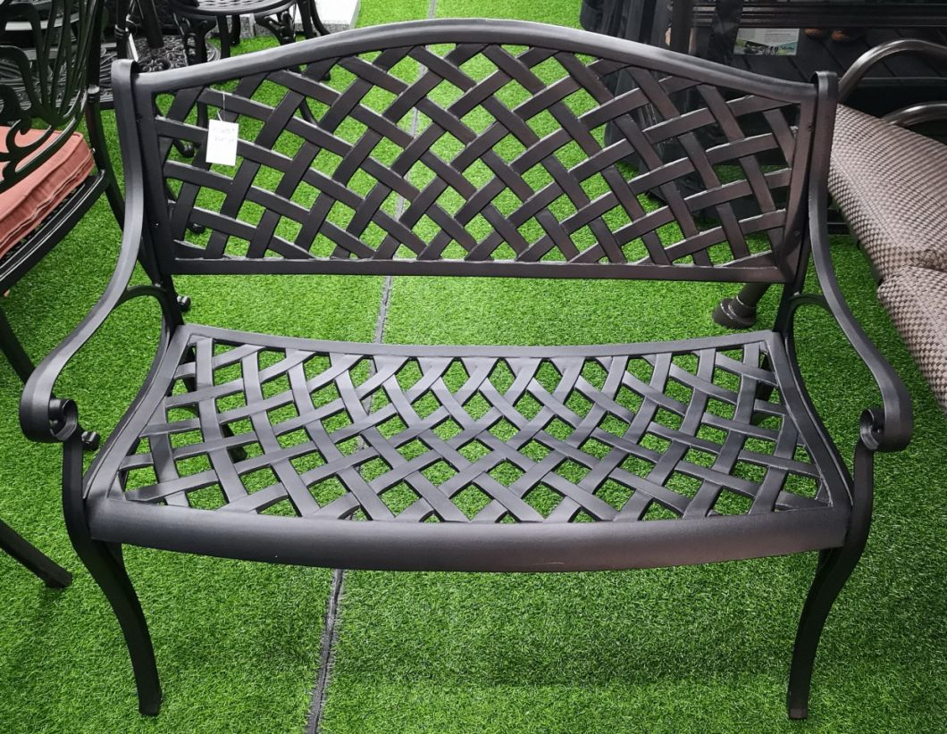 Awesome China Cast Aluminum Garden Bench Outdoor Chair Lovers Bench Evergreenethics Interior Chair Design Evergreenethicsorg