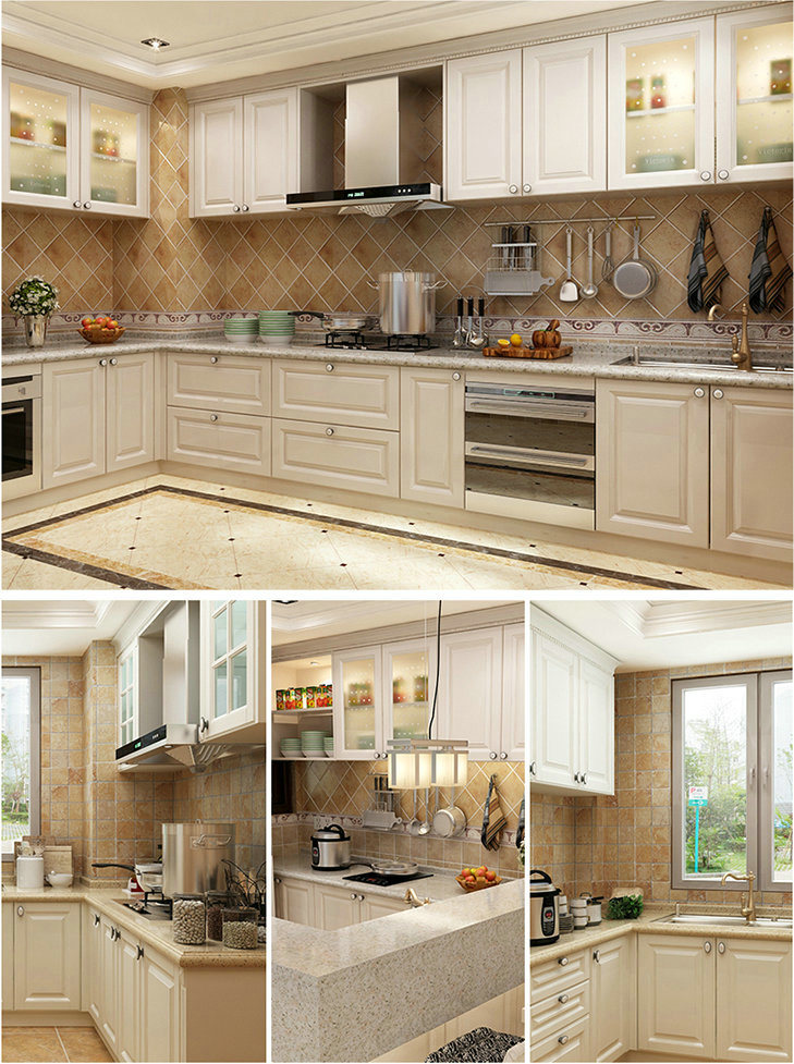 China Kitchen Furniture Shaker Style Melamine Board ...