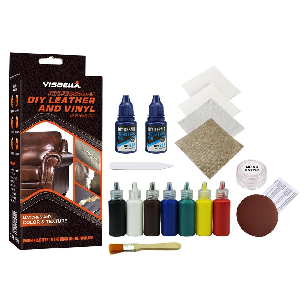 Visbella DIY Leather Color Restoration Repair Kit(id ...