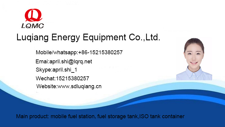 China Horizontal Ul 142 Above Ground Diesel Fuel Skid Tank
