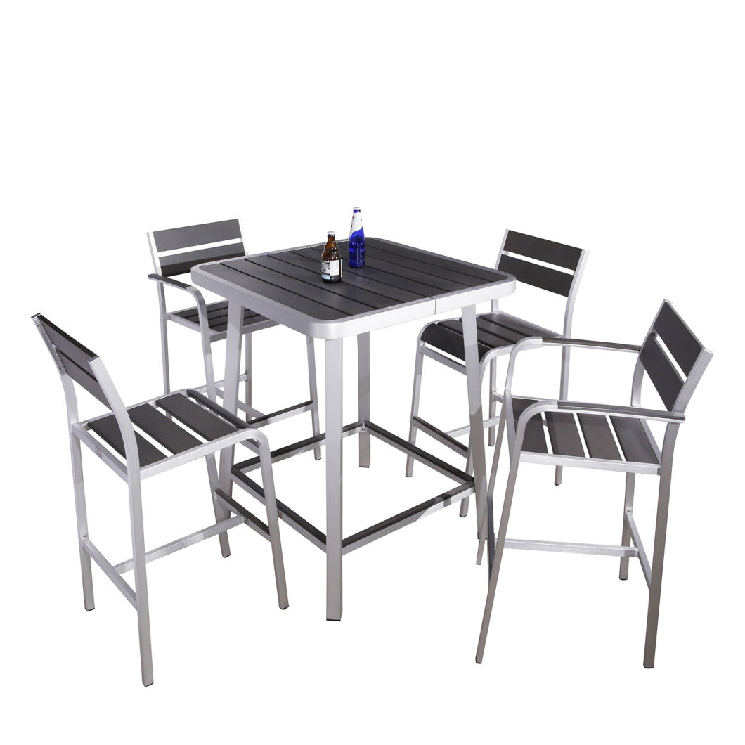 China Outdoor Bistro Set High Chair Bar