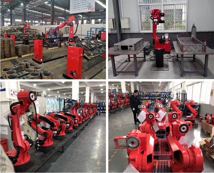 6-Axis Welding Robot with 350A MIG Welding Equipment 6kg Payload