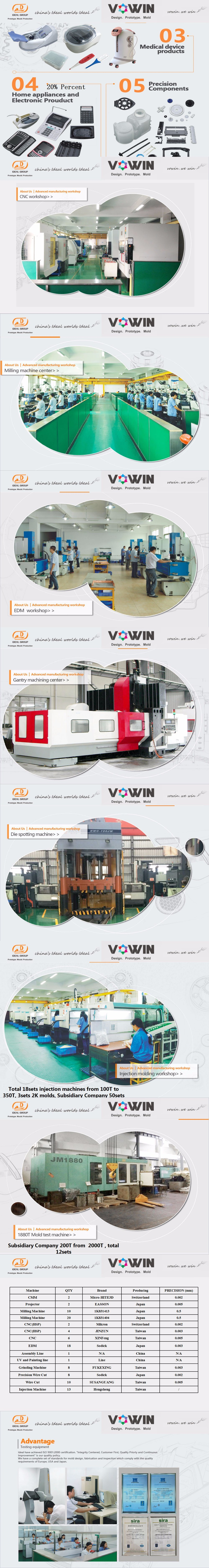 Hrs Hot Runner Injection Plastic Mould