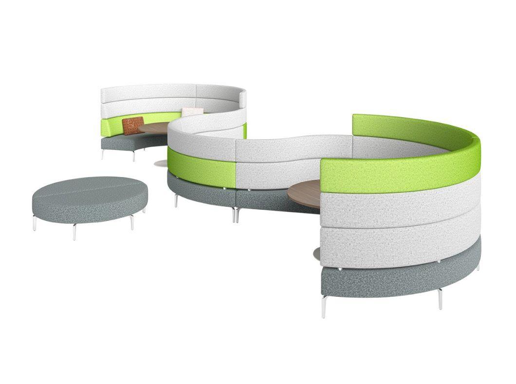 Modem Design Office Lounge Fabric Sofa
