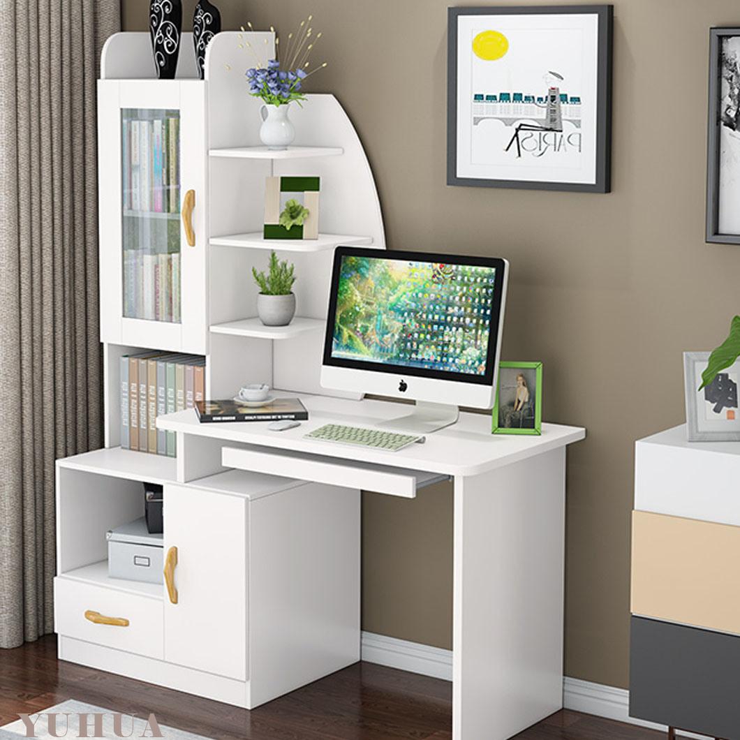 China Computer Desk Desktop Table Bedroom Bookcase, Office