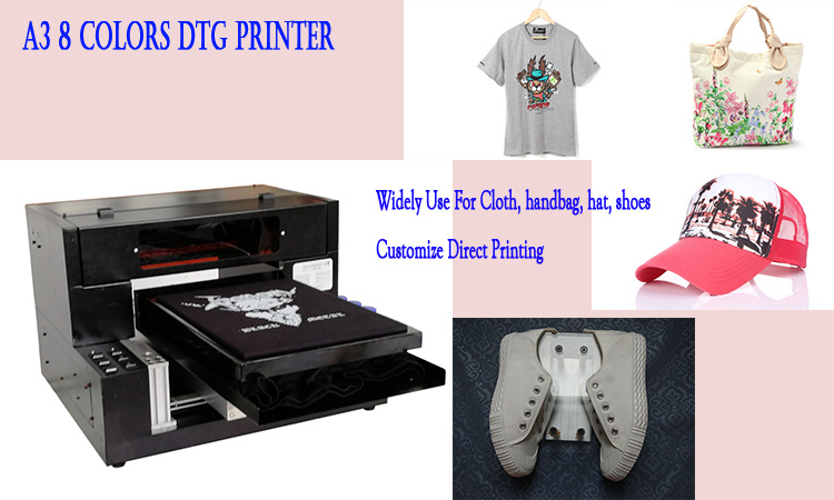 ae11cf47f High Quality DTG Printer A3 T Shirt Printing Machines for Sale - WER ...