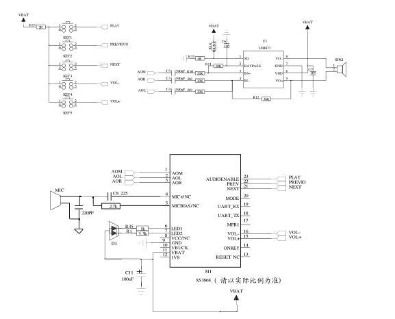 XS3868 Bluetooth stereo audio module co<em></em>ntrol chip OVC3860 Stereo Bluetooth module