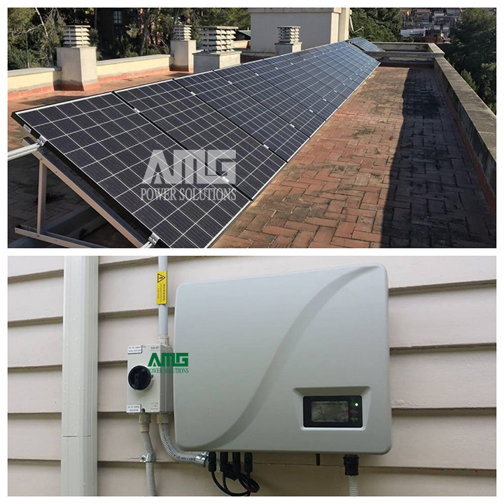 5kw Home Use Solar on Grid System Kit for Roof /Ground Installation
