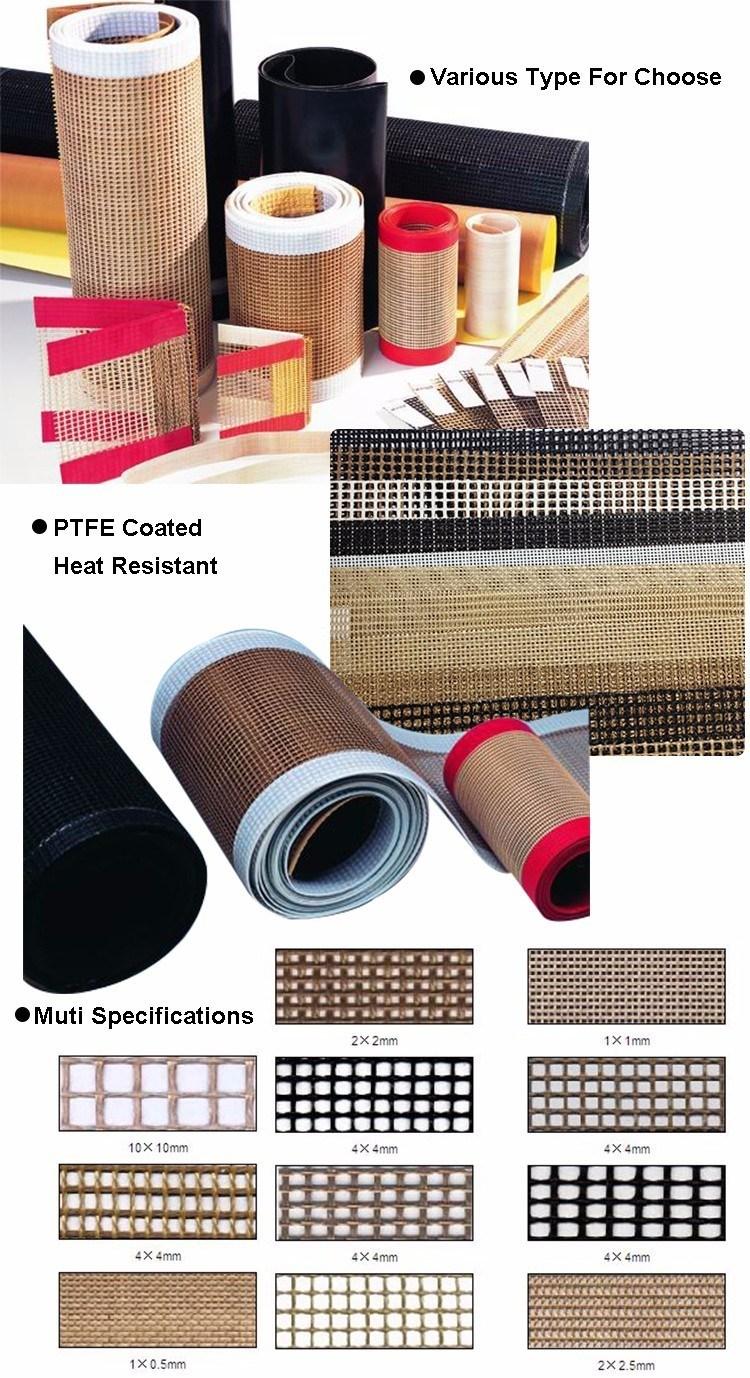 Fireproof Chemical Resistant Fabric PTFE Coated Fiberglass Mesh