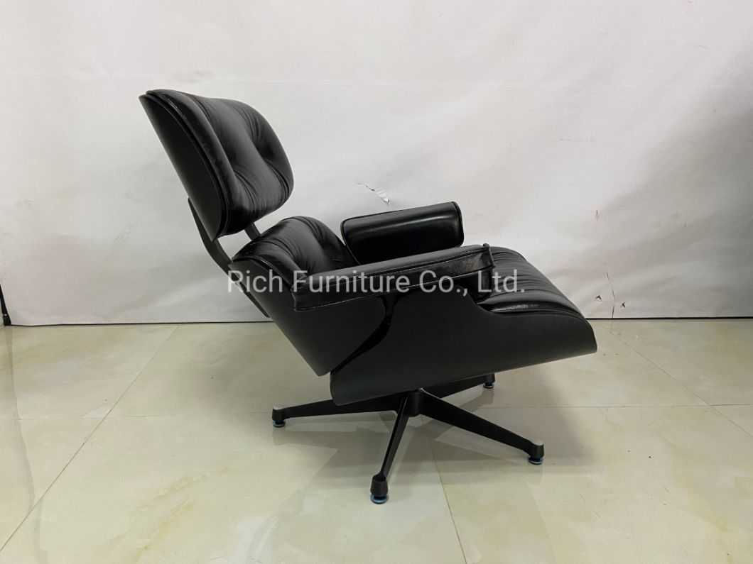 Vitra Lounge Chair Replica china replica leisure black eames lounge chair with ottoman
