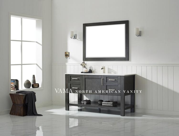 China Vama 60 Inch Bathroom Vanities