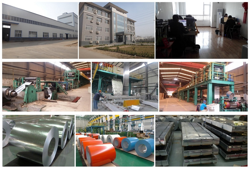 0.45*1000mm Steel Metal Roof Tiles Corrugated Galvanized Steel Sheet