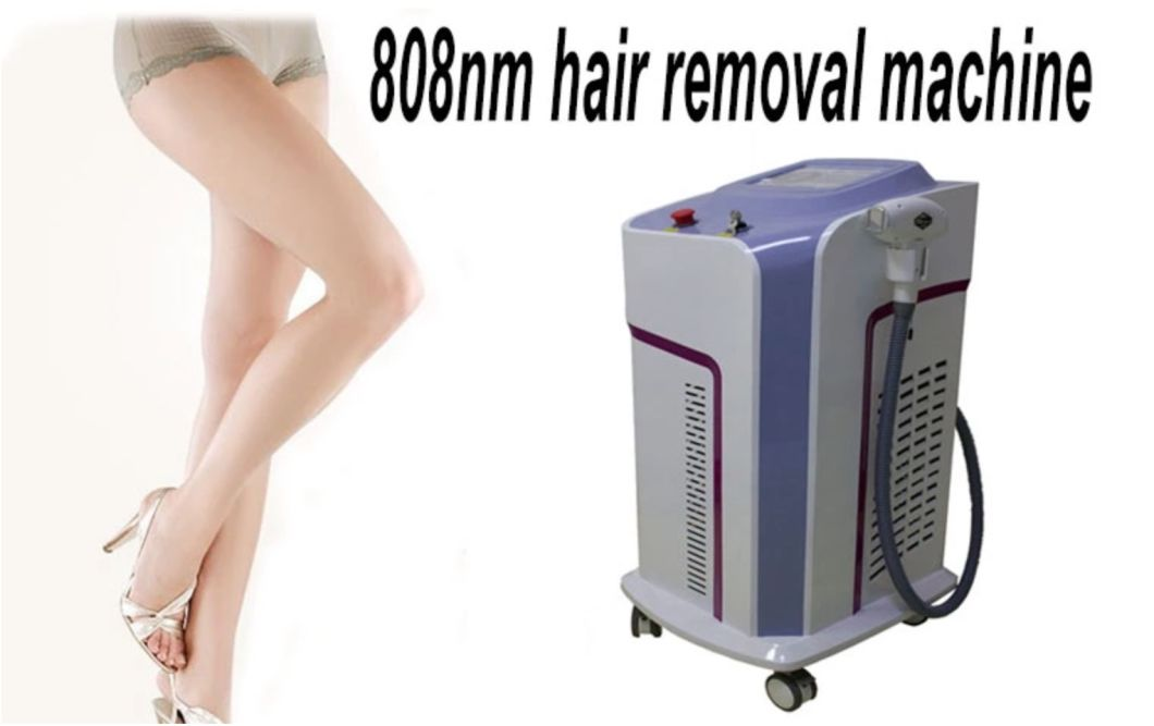 China Newest Technology No Channel Diode Laser 808nm Hair Removal