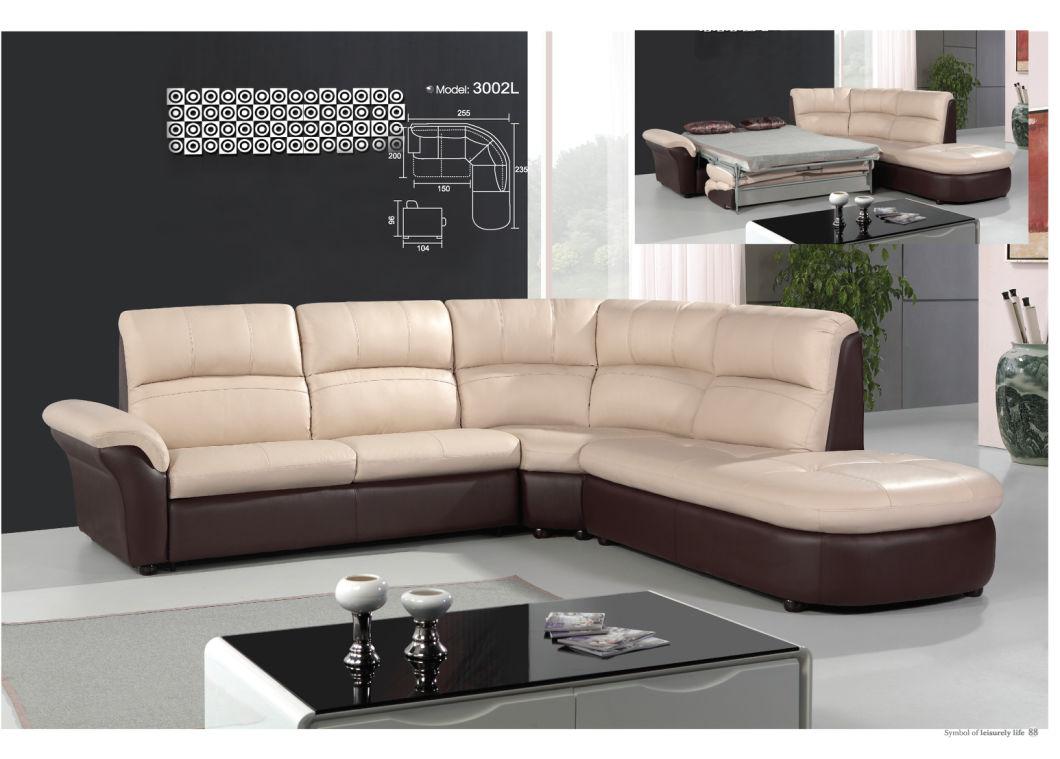 Living Room Furniture Elegant Leather