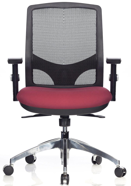 Hotel School Chair Mesh Fabric Swivel