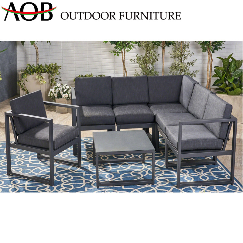 Excellent China Black Lounge Chair Chinese Garden Set Outdoor Hotel Furniture Aluminum Sofa Gmtry Best Dining Table And Chair Ideas Images Gmtryco