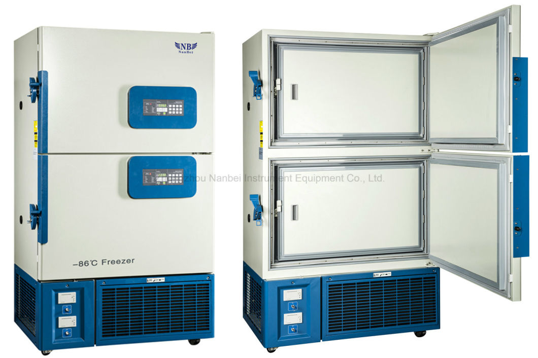 -86 Degree Ultra Low Temperature Freezer for Lab Medical Hospital Pharmacy