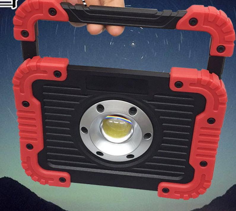 10W COB Rechargeable Flood Light