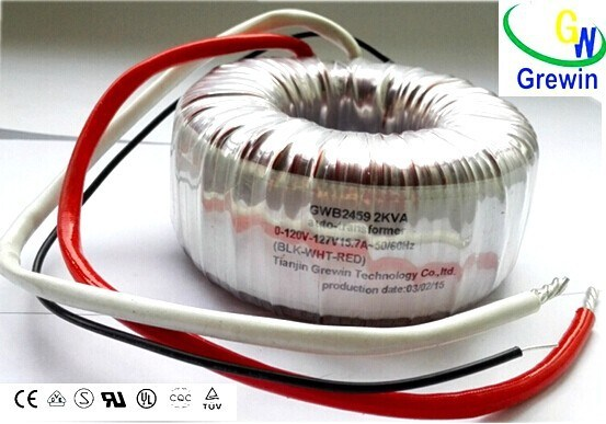 UPS Toroidal Transformer for Welding Machine and Solar Converter