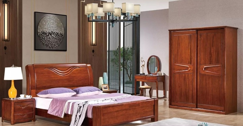 New Design Antique Style Bedroom Beds