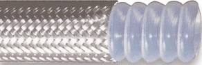 Flat Flexible PTFE Hose with Flange