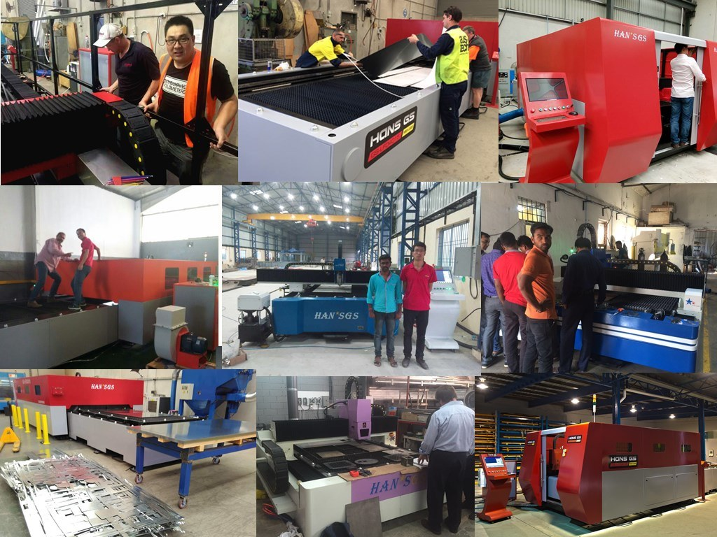 Easily Metal Cutting From China Hans GS Fiber Laser Machine