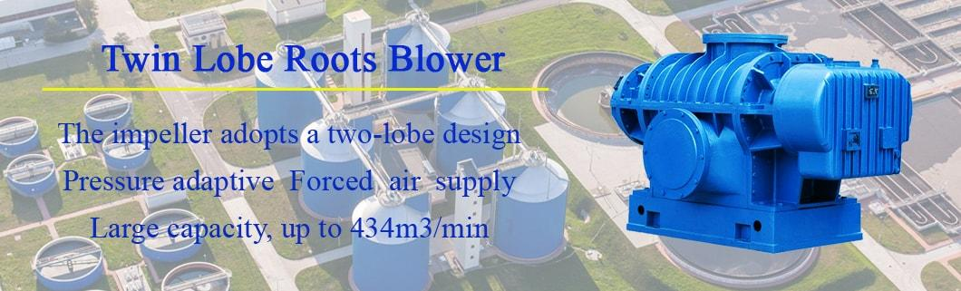 Drrf High Pressure Oil Free Double Lobe Roots Blower for Air Delivery