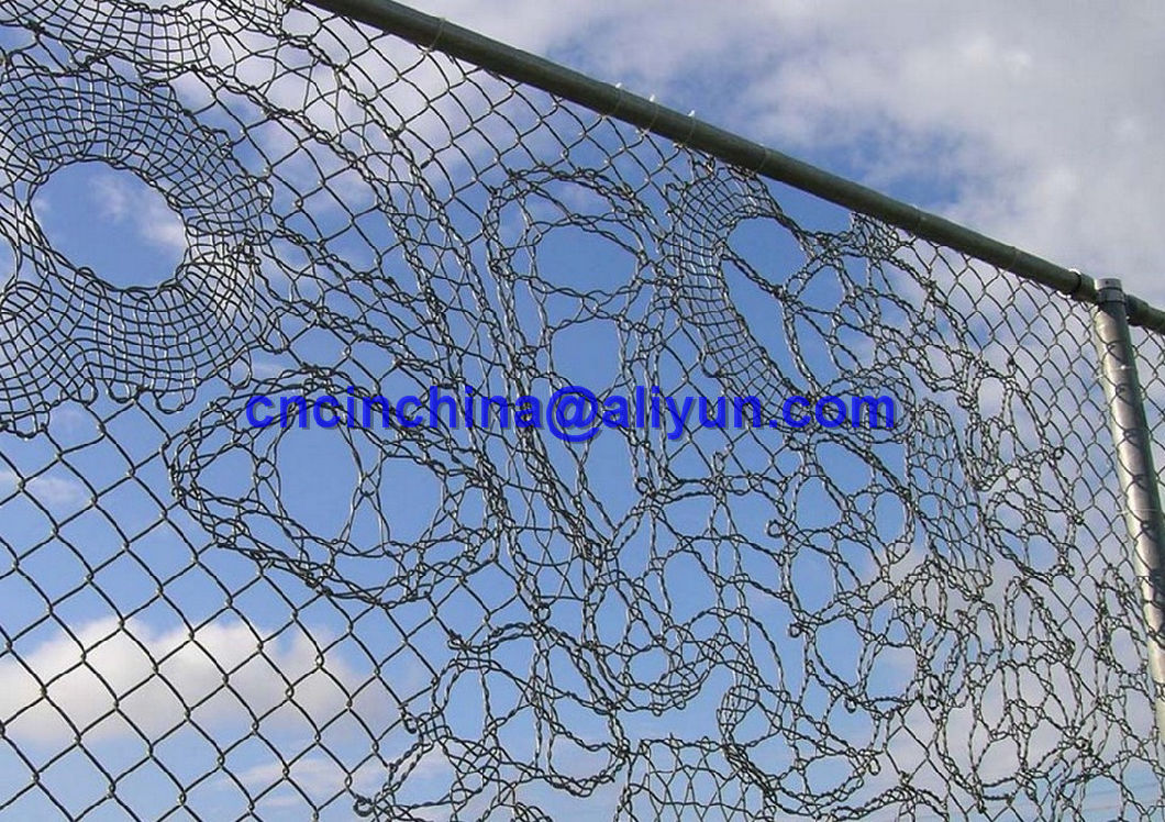 China Art Fence with Pattern Design - China Link Fence, Drawing Fence
