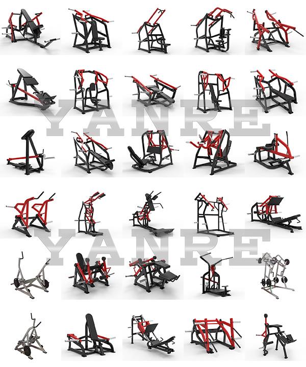 Plate Loaded Leg Press Hammer Strength Commercial Gym Fitness Equipment