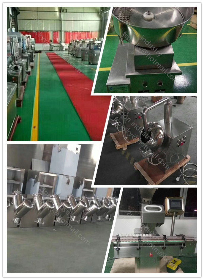5-500L V Shape Pharmaceutical Powder Mixing Machine