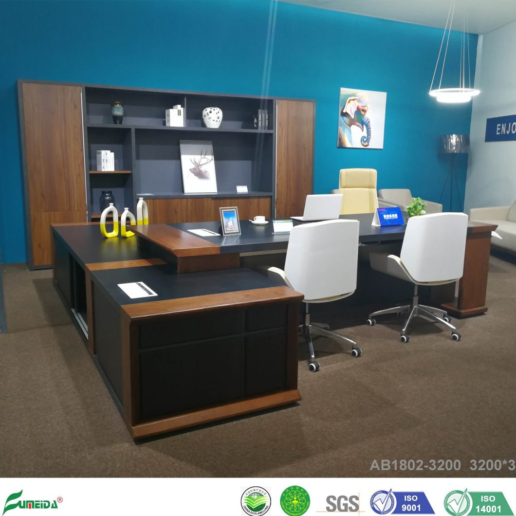 - China New Melamine Office Furniture Big Executive Desk In Office