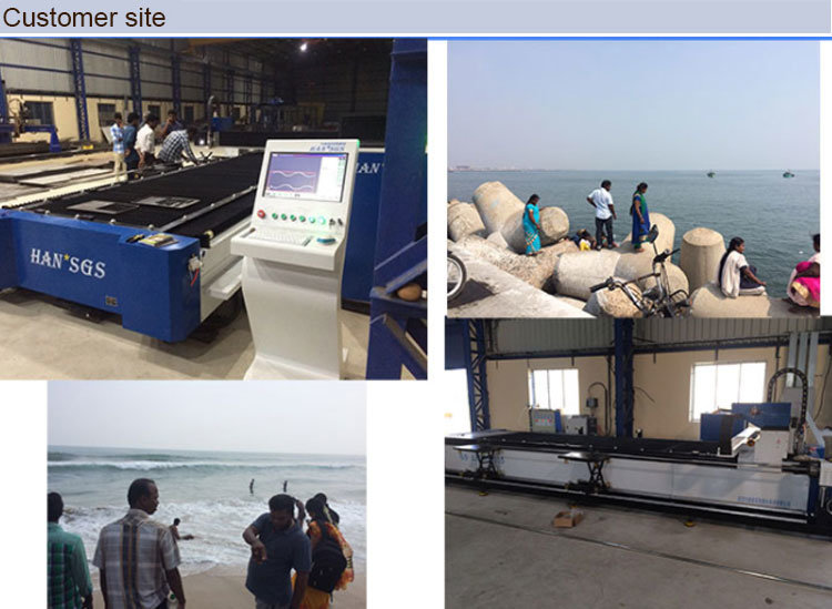 Pipe Steel Cutting Equipment with Fiber Optic Lasers, Carbon Steel Pipe Cutters