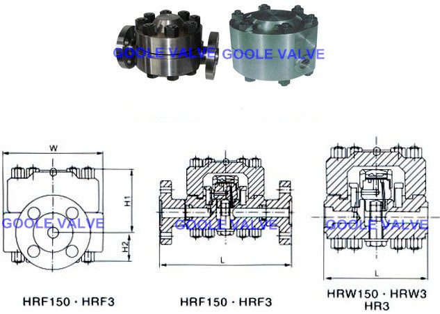 Hrw/Hrf 150 High Pressure Temperature Disc Steam Trap