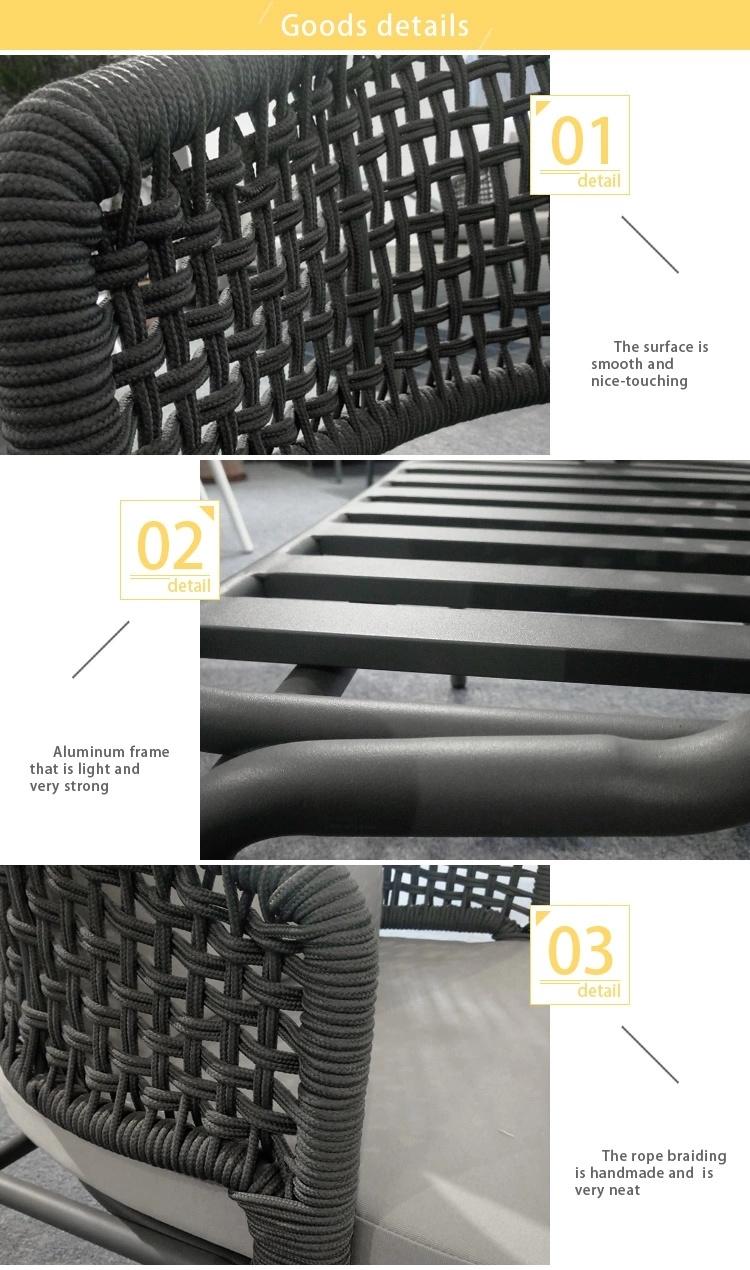 Patio Rope Furniture Outdoor Furniture Garden Rattan Furniture RF015