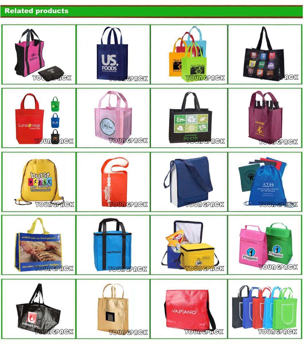 Wholesale Cheap Handbag Eco Friendly Reusable Supermarket Grocery Shopper Carry Bag Promotio<em></em>nal Gift Custom Printed Non-Woven Fabric Foldable Tote Shopping Bags