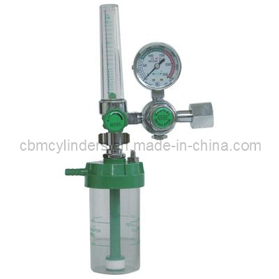 Bestselling Float-Type Medical Oxygen Regulator W/ O2 Humidifier for Oxygen Cylinders