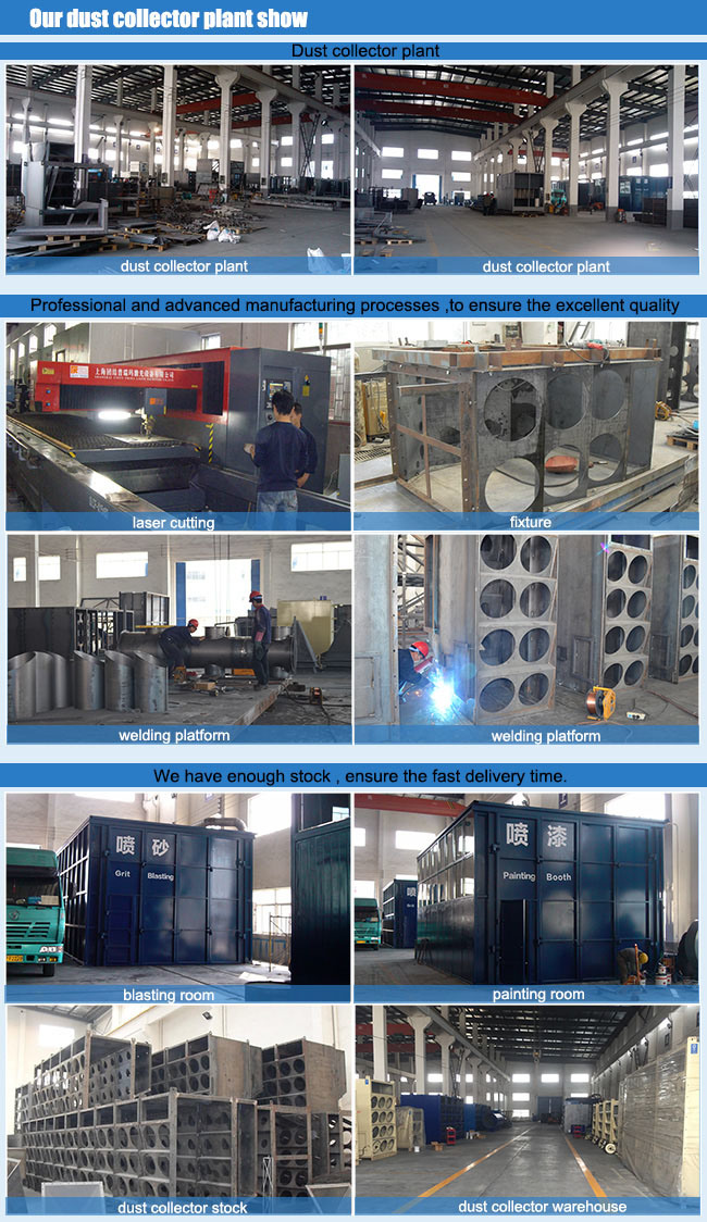 Ccaf Vertical Cartridge Dust Collector for Sand Blasting