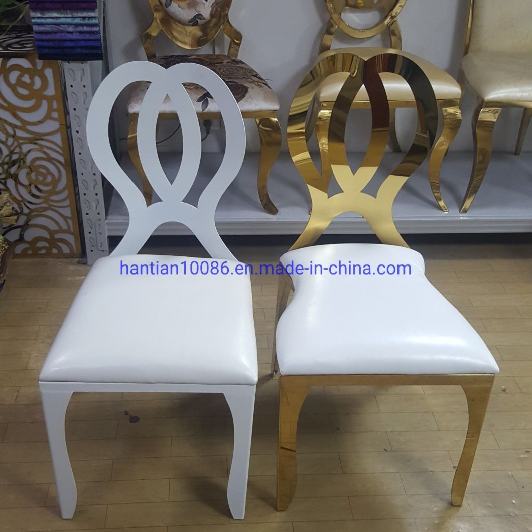 China Stackable Wedding Furniture Gold