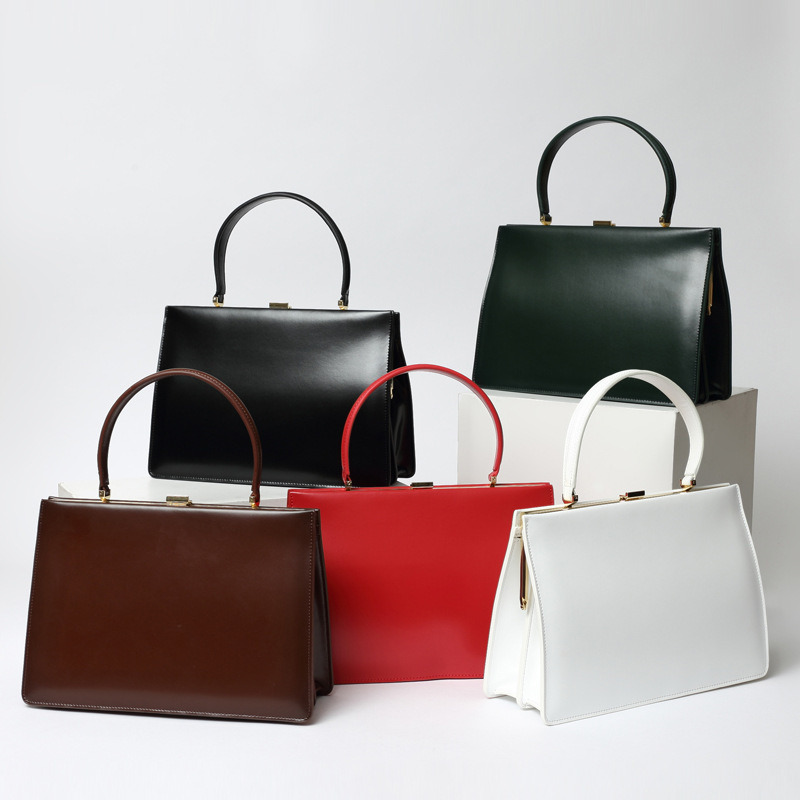 S Leather Bags Office Lady Work Bag