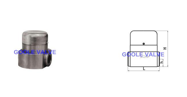 Hr80/Hr260 High Pressure-Temperature Steam Trap