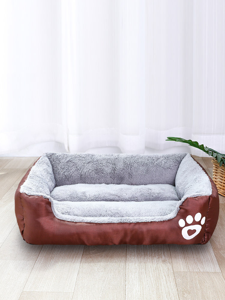 Pet Sofa Bed Dog Cat or Puppy Memory Foam Mattress fortable Couch for Pets with Removable Washable Cover