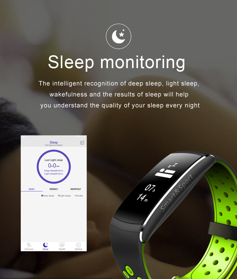 Z11 Smart Band IP68 Waterproof Heart Rate Smartband Fitness Tracker Smart Bracelet Wearable Devices Wristband