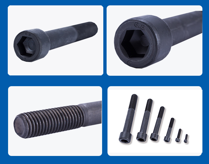 8.8 Grade High Strength Carbon Steel Hexagon Socket Head Cap Screw Bolts Allen Screw