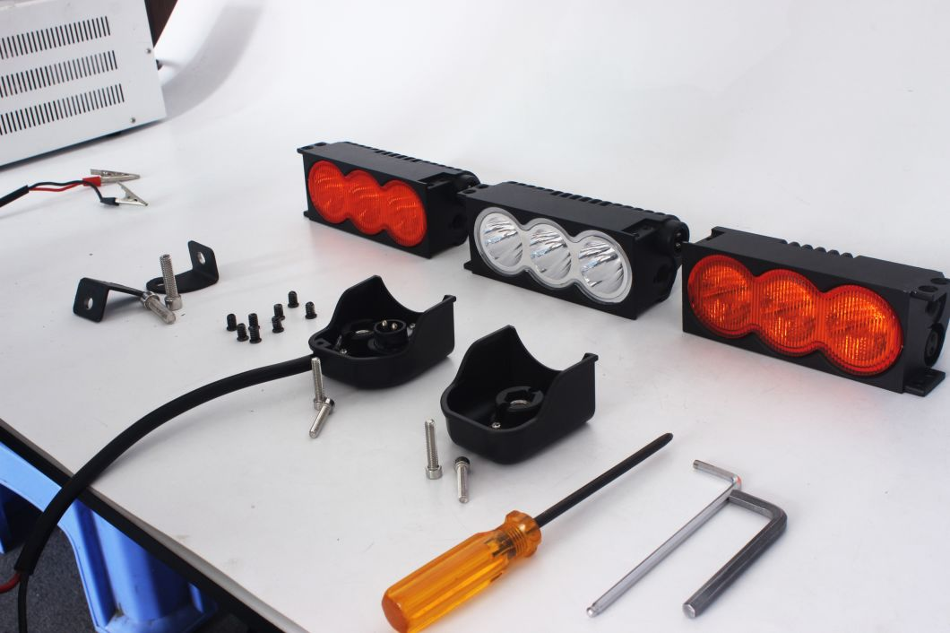 180W 18.7 Inch CREE Sigle Row LED Light Bar Amber&White Modular Kit LED Light Bar